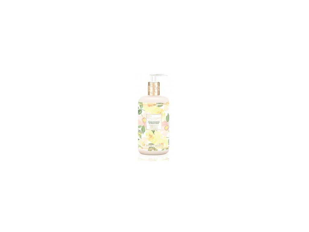 Baylis & Harding - Luxusní Tekuté mýdlo na ruce Citrónové květy a Bílá růže, 500ml