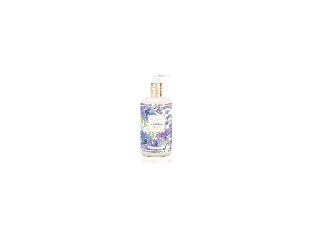 Baylis & Harding - Luxusní Tekuté mýdlo na ruce Šeřík a Anglická Levandule, 500ml