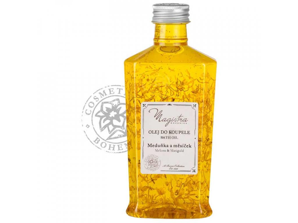 BOEMI - Koupelový olej Meduňka a měsíček