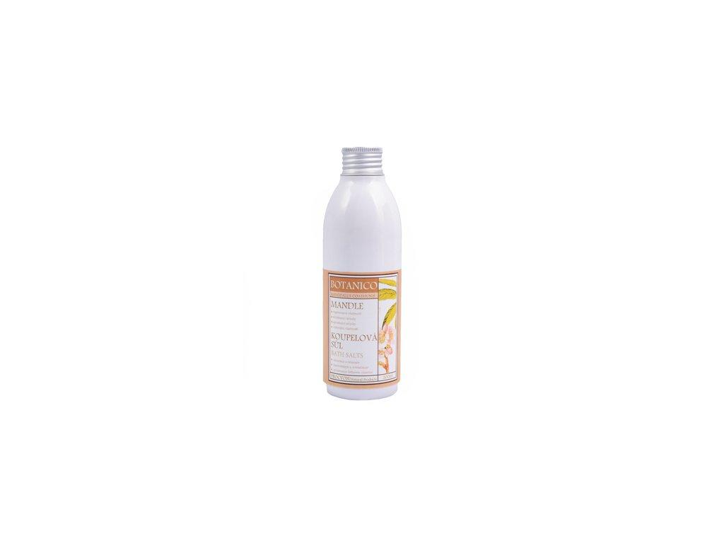 BOTANICO - koupelová sůl 200ml mandle