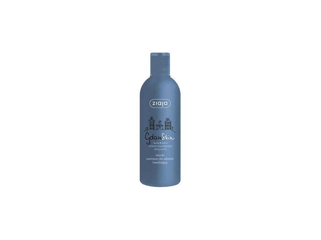 ZIAJA - Gdanskin Mořský šampon na vlasy 300 ml