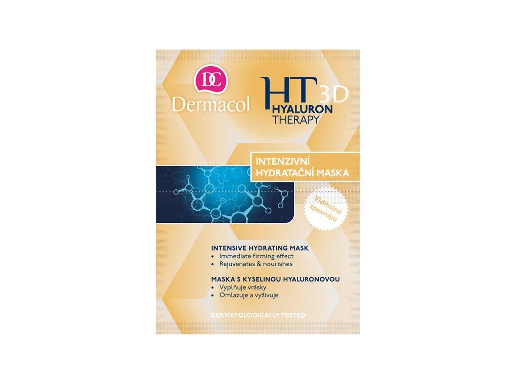 Dermacol - Intenzivní hydratační a remodelační maska 3d hyaluron therapy