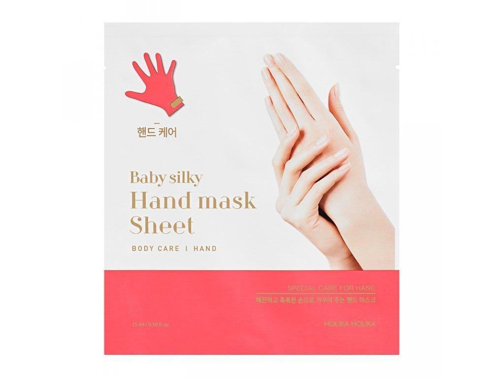 Holika holika - Baby Silky hand mask sheet pečující rukavice