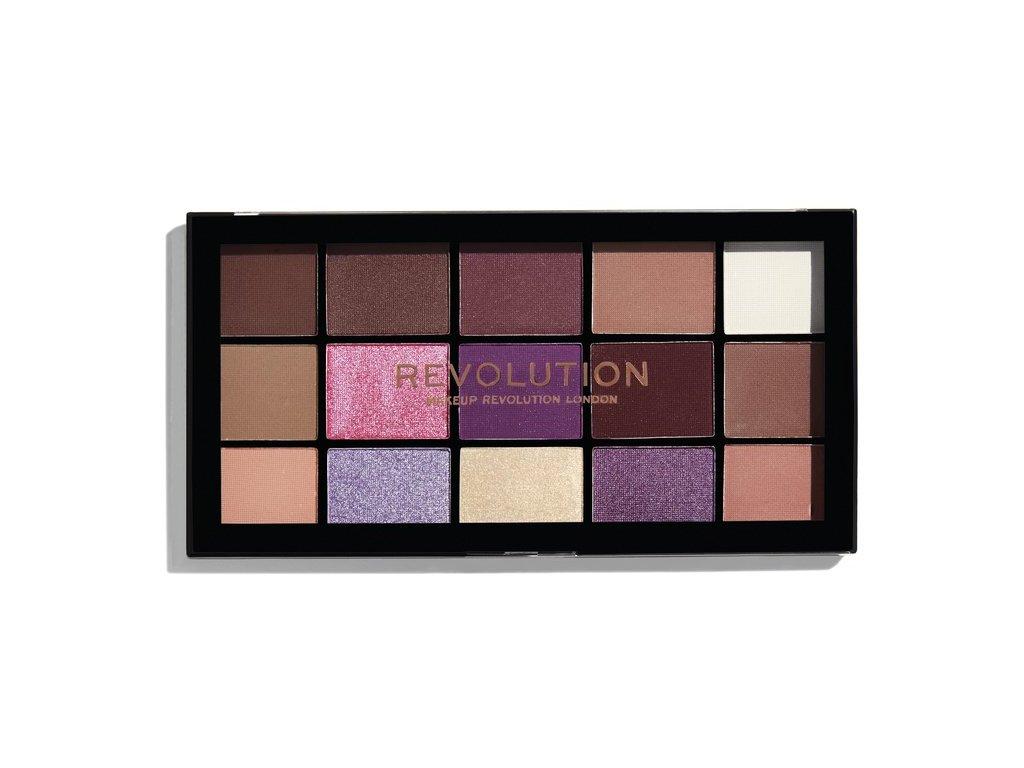 Makeup Revolution - paletka 15 očních stínů Re-Loaded - Visionary