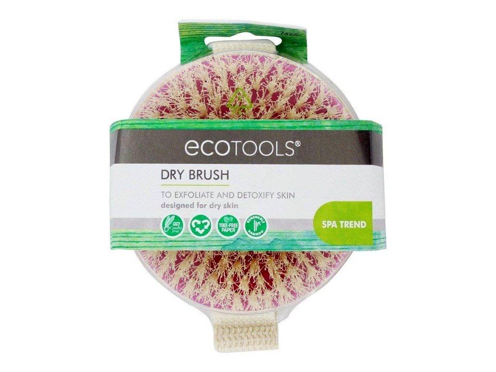 ECOTOOLS - Suchý kartáč pro peeling těla