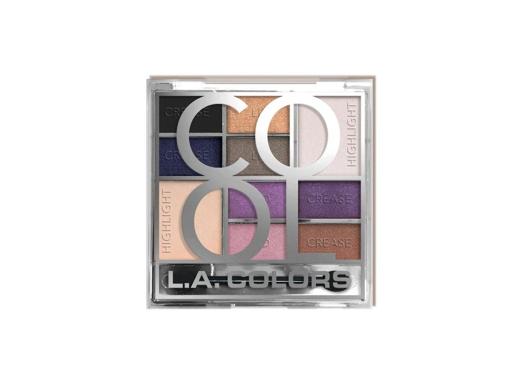 L.A. Colors - Paletka stínů COOL 20g