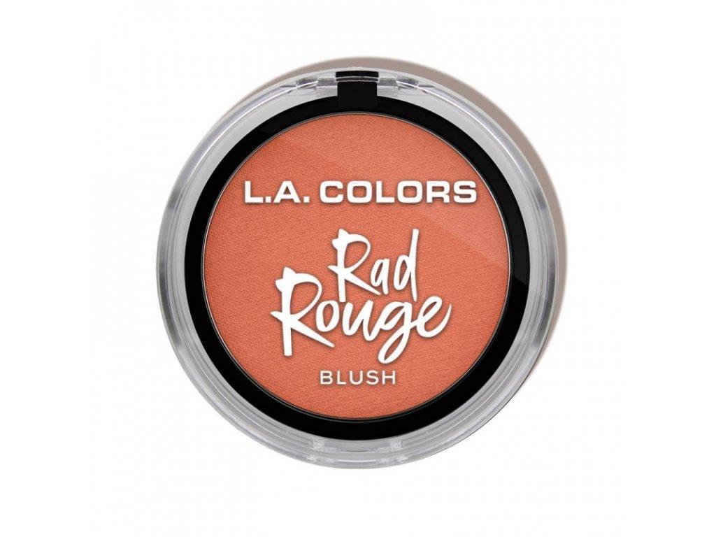 L.A. Colors - Tvářenka Rad Rouge CHERRISH