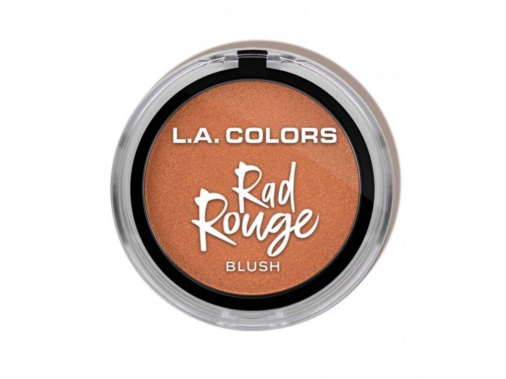 L.A. Colors - Tvářenka Rad Rouge FLIPSIDE