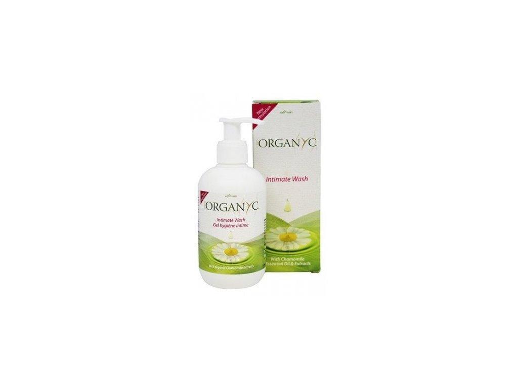 Organyc - Gel pro intimní hygienu BIO (250 ml)