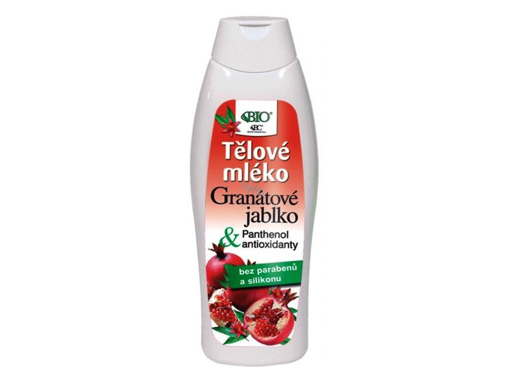 Bione Cosmetics - Granátové jablkoTělové mléko 500 ml