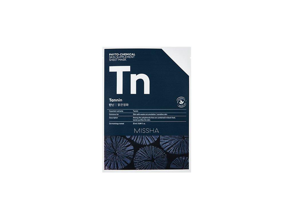 Missha - Phytochemical Skin Supplement – purifikační maska (Tn)