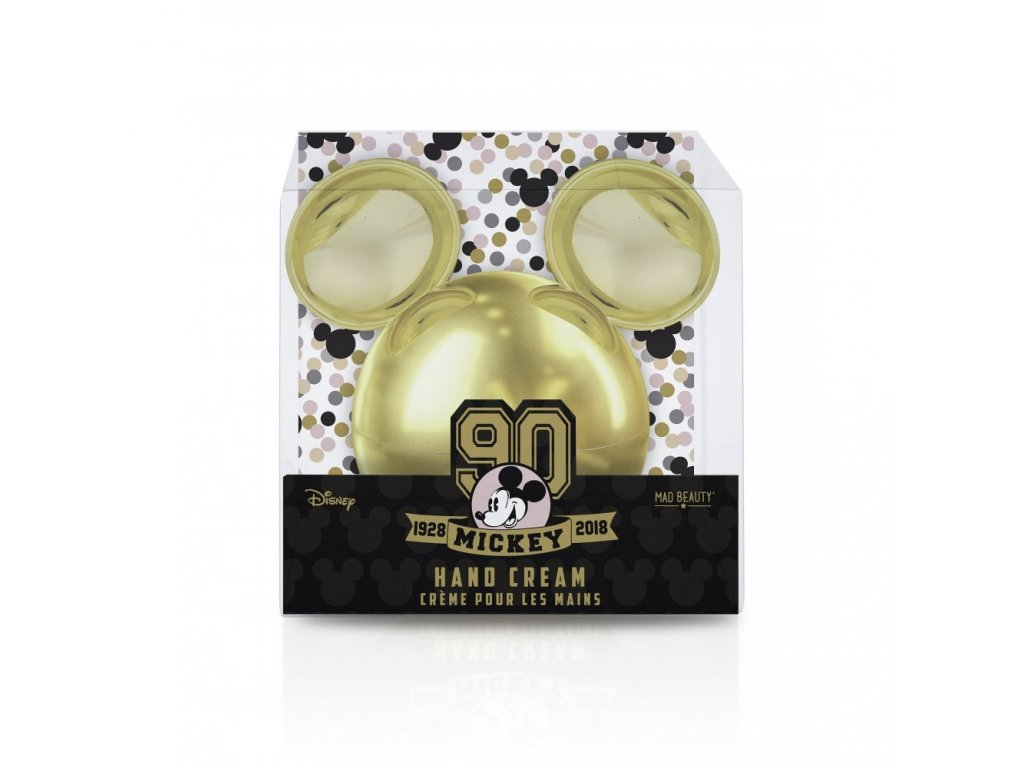MAD Beauty - Krém na ruce Mickey 90th Hand Cream Gold