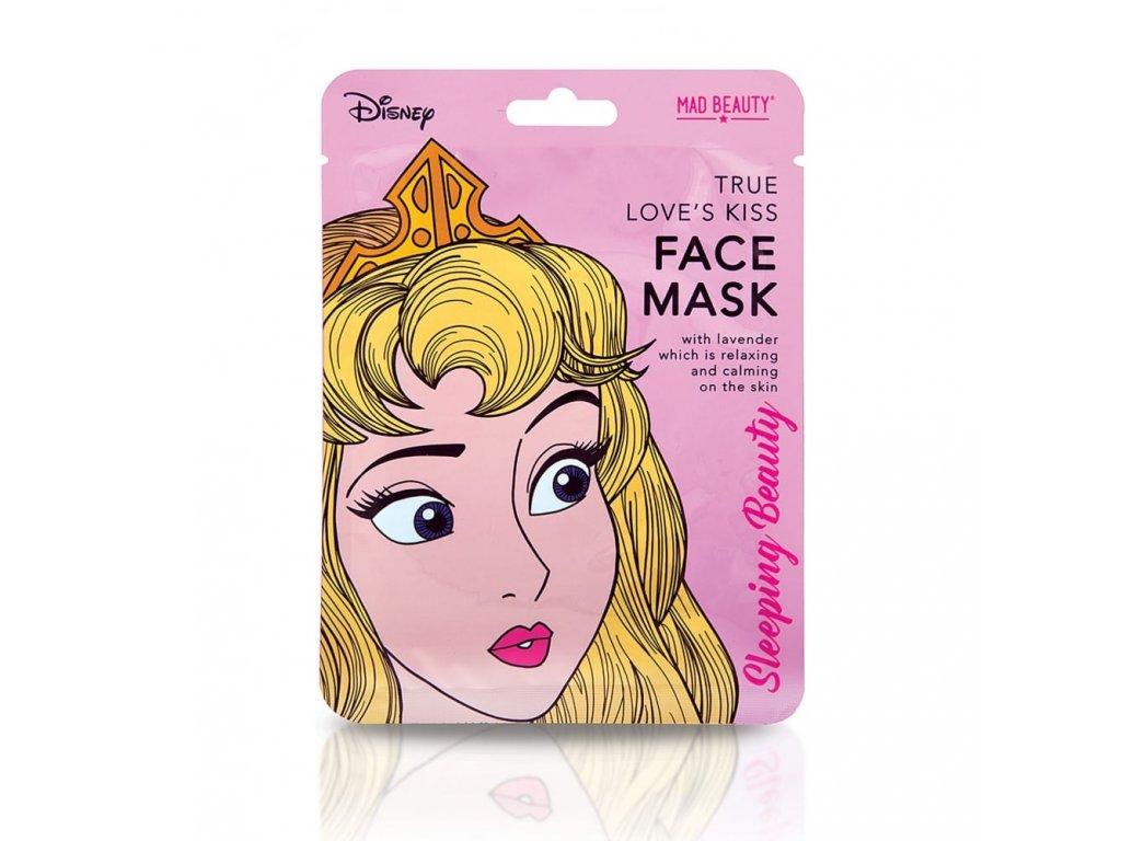 MAD Beauty - Plátýnková maska ŠÍPKOVÁ RŮŽENKA (relaxační a zklidňující)