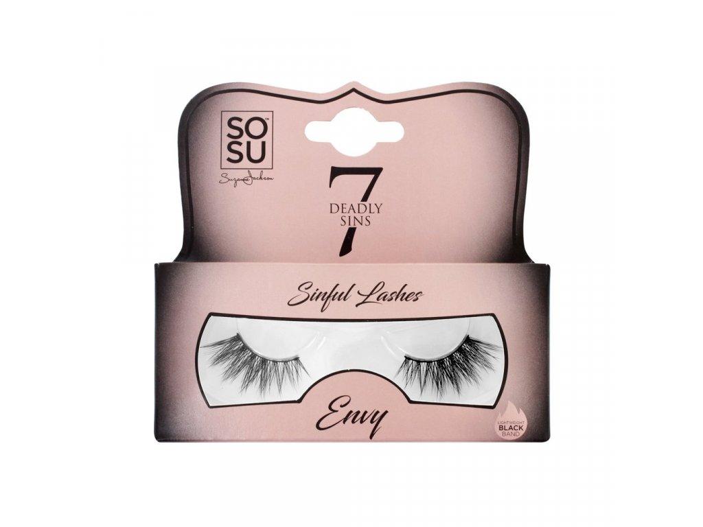 SOSU - Luxusní umělé 3D řasy 7 sins ENVY