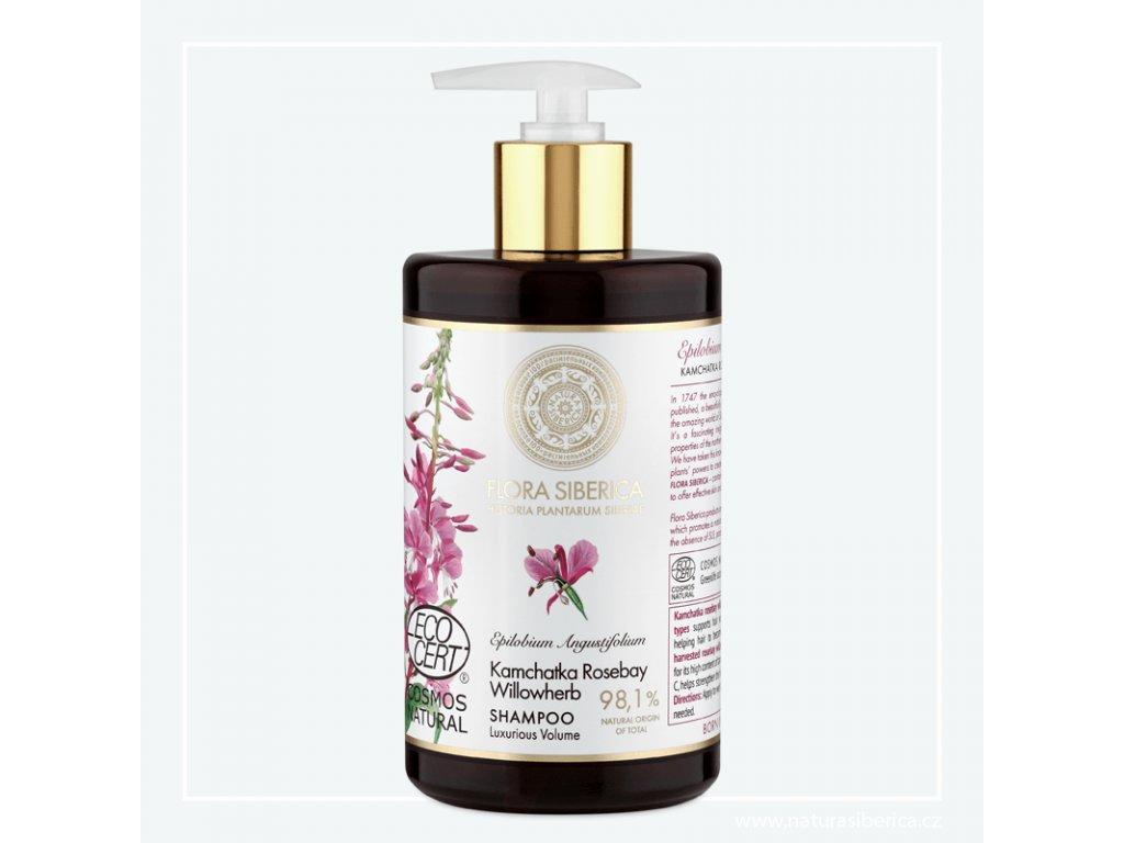 NATURA SIBERICA - Flora Siberica Šampon pro tenké vlasy zbavené objemu – Luxusní objem 480 ml