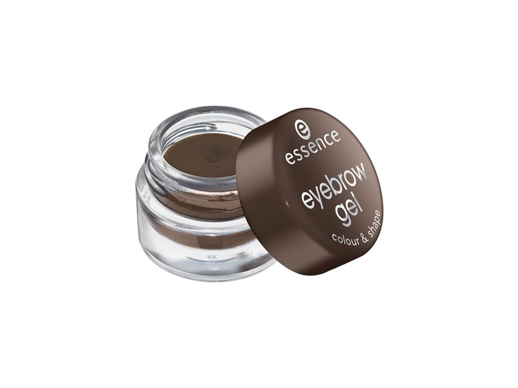 Essence - gel na obočí colour & shape 01 brown