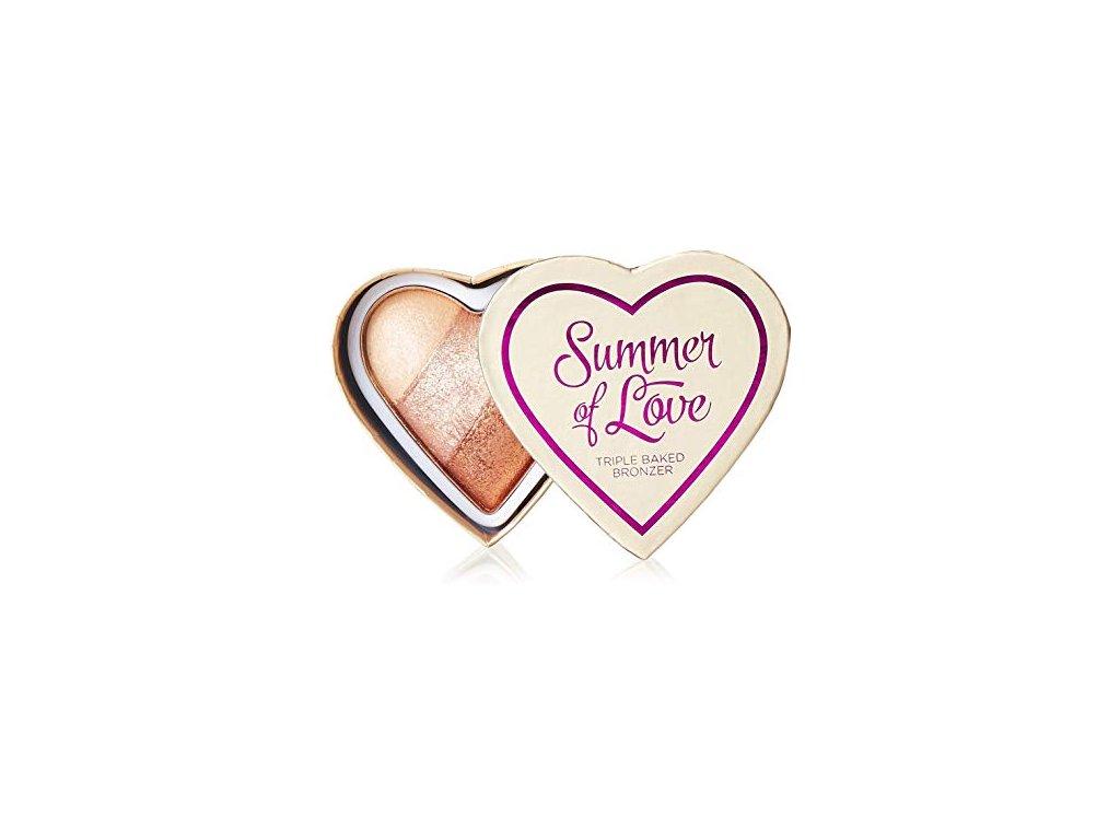 I ♥ MAKEUP - Srdcový bronzer HOT SUMMER OF LOVE