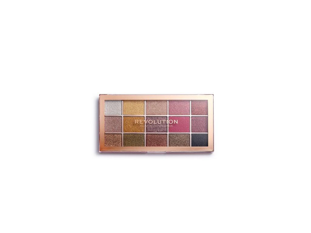 Makeup Revolution - paletka 15 očních stínů Foil Frenzy Creation