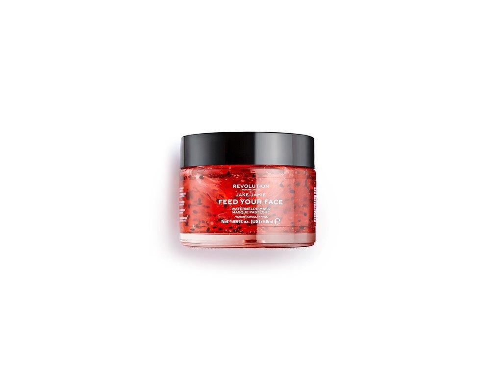 Makeup Revolution Skincare - Jake – Jamie Watermelon Hydrating, maska na obličej