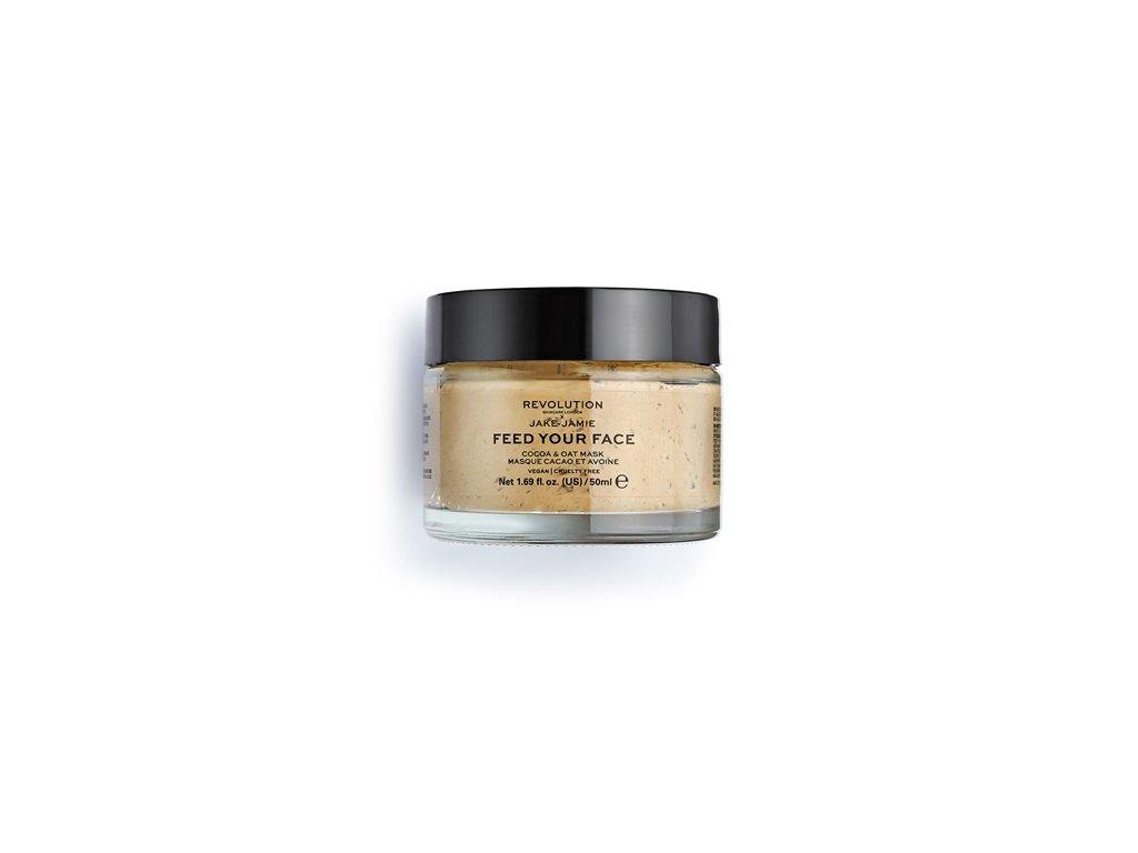 Makeup Revolution Skincare - Jake – Jamie Cocoa & Oat Moisturising, maska na obličej