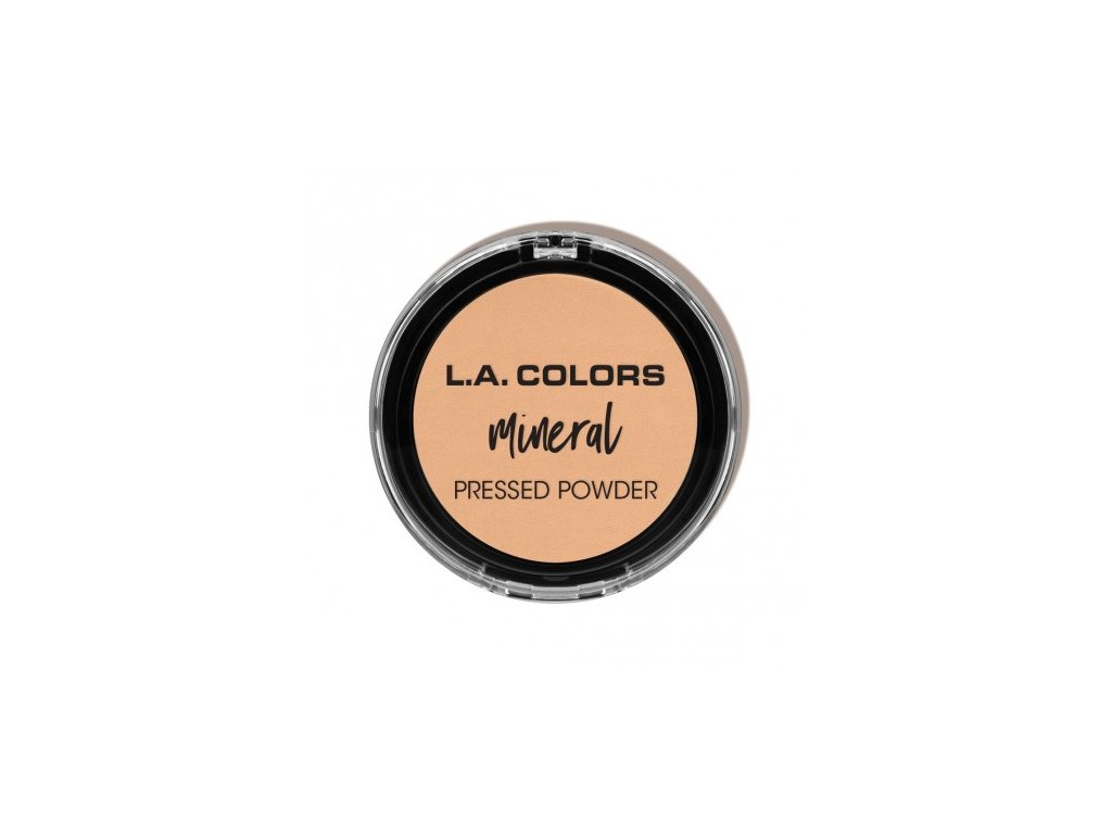 L.A. Colors - Minerální pudr CREAMY NATURAL 7,5 g