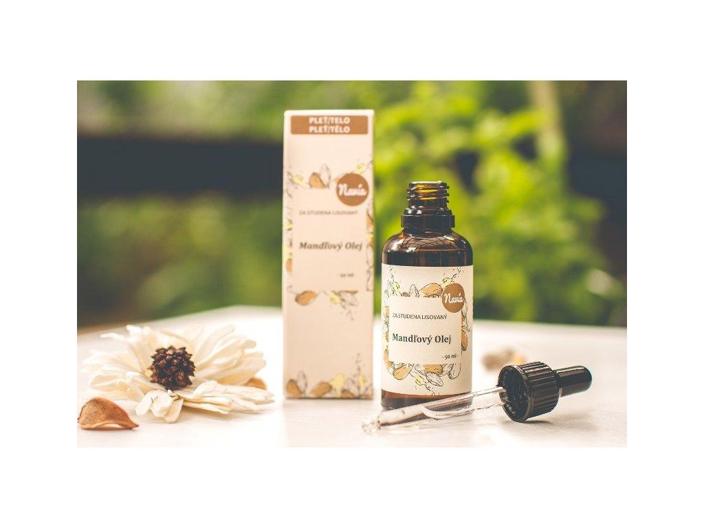 Navia - Mandlový olej za studena lisovaný 50 ml