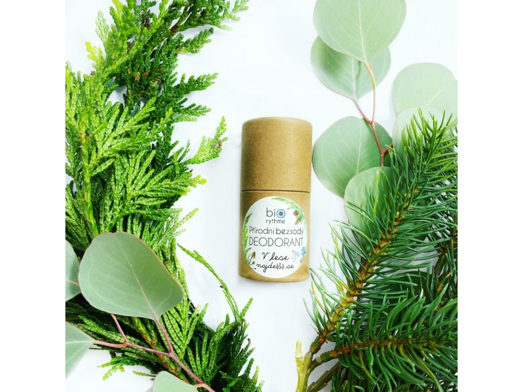 Biorythme - 100% přírodní BEZSODÝ deodorant V lese 30g