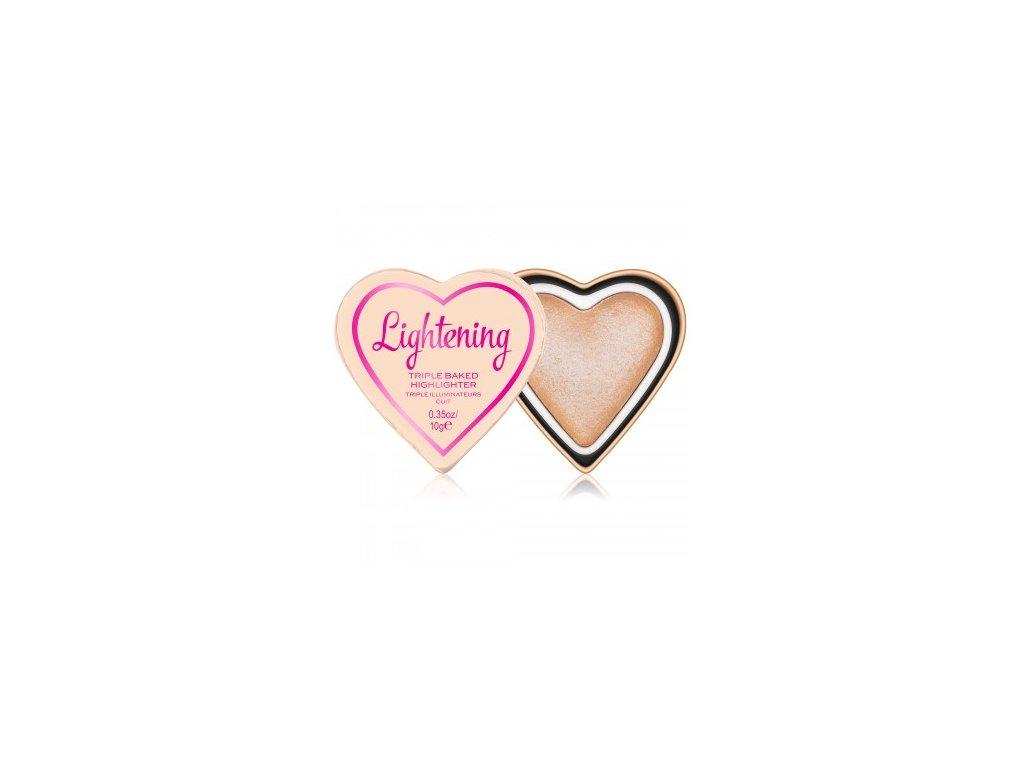 I ♥ MAKEUP - Srdcový rozjasňovač GLOW HEARTS LIGHTENING
