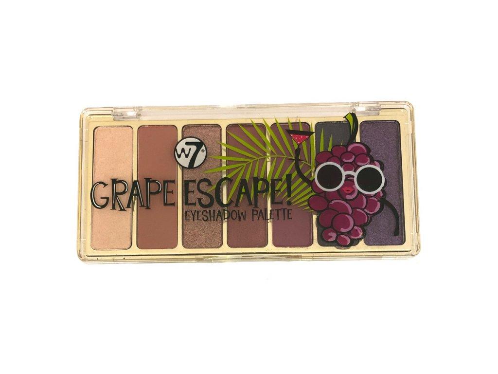 W7 - paletka očních stínů Grape Escape
