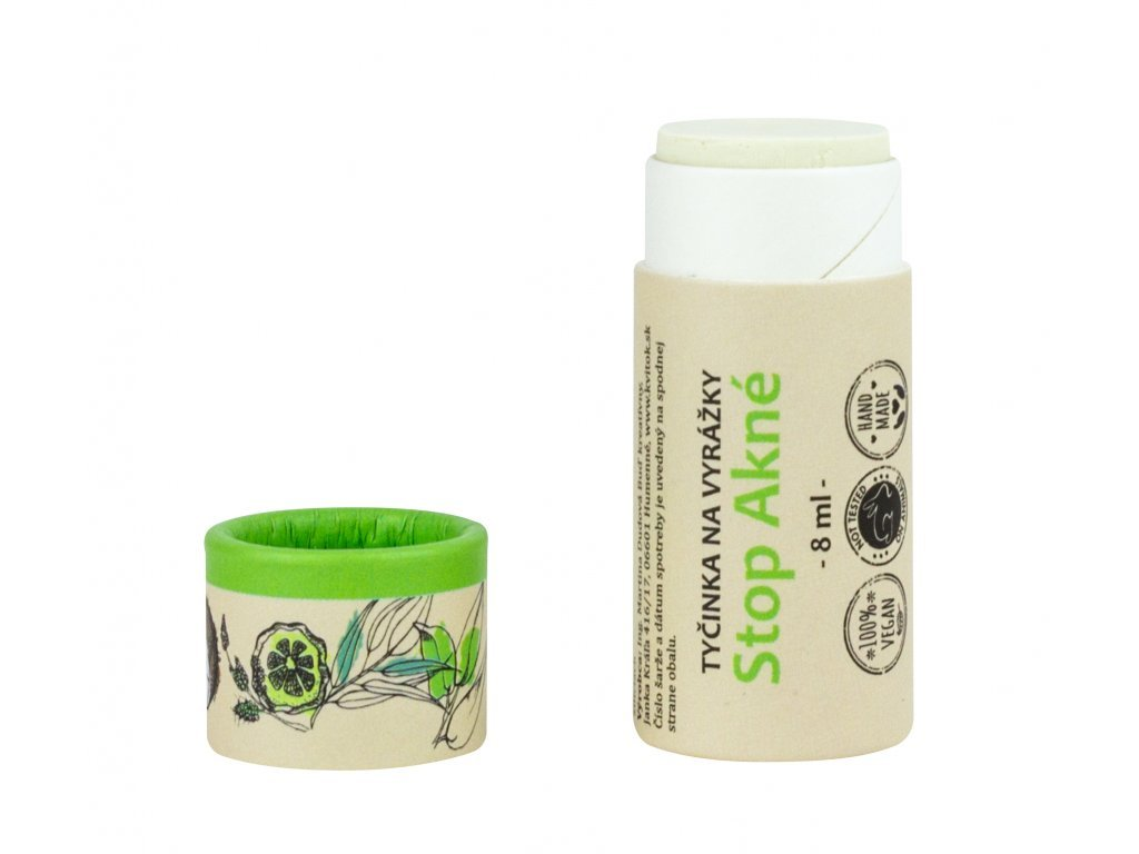 Kvítok - SOS Zinková tyčinka na pupínky a opary (8 ml)