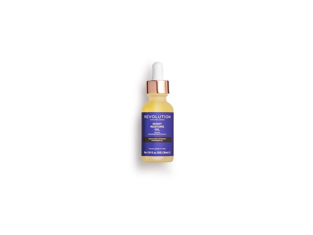 Makeup Revolution Skincare - Night Restore Oil, hydratační olej