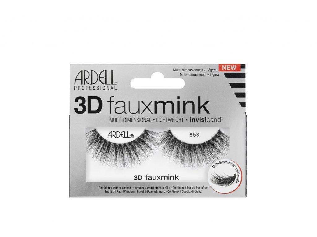 Ardell - Nalepovací řasy 3D Faux Mink 853