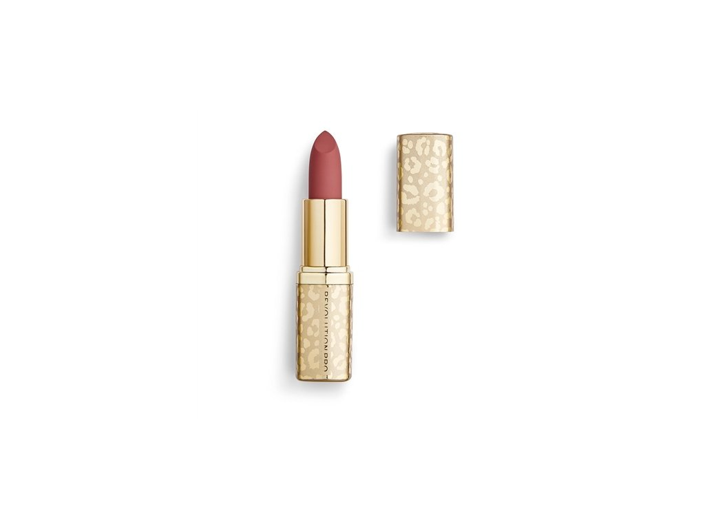 Makeup Revolution PRO - rtěnka New Neutral Satin Matte Lipstick Velvet