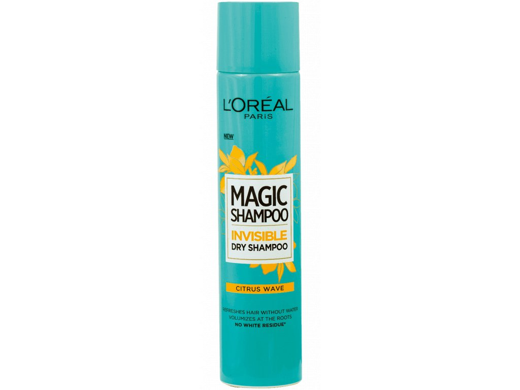 L´Oréal - Suchý šampon Magic shampoo Citrus Wave 200 ml