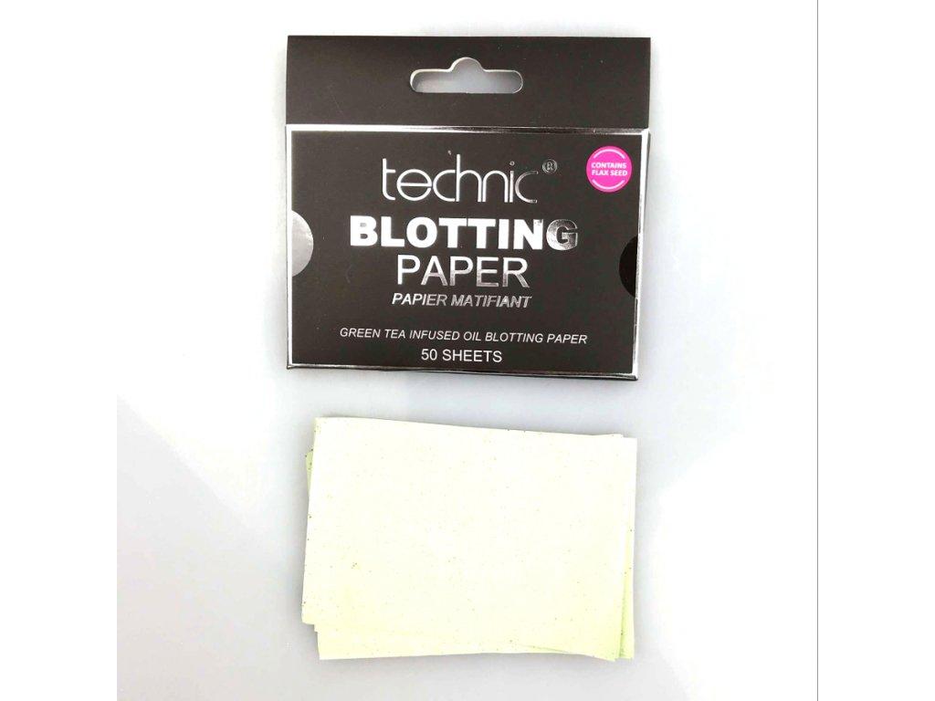 TECHNIC - Matující papírky (50ks)