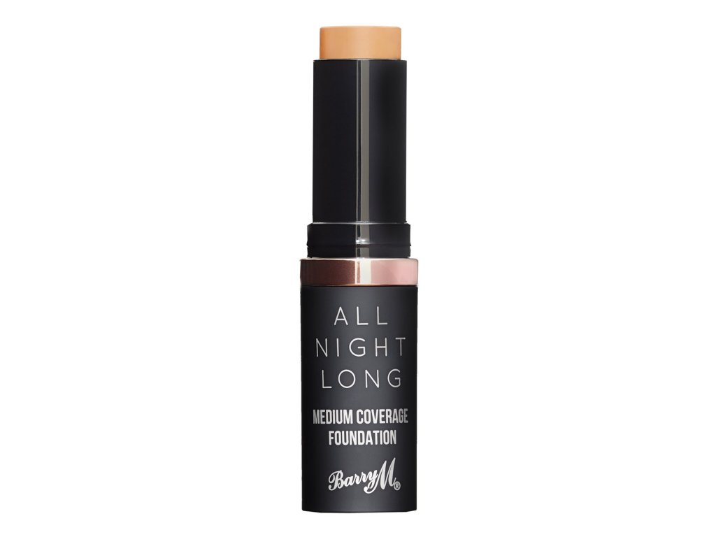 Barry M - make-up v tyčince - All Night Long Foundation Stick 7 FUDGE