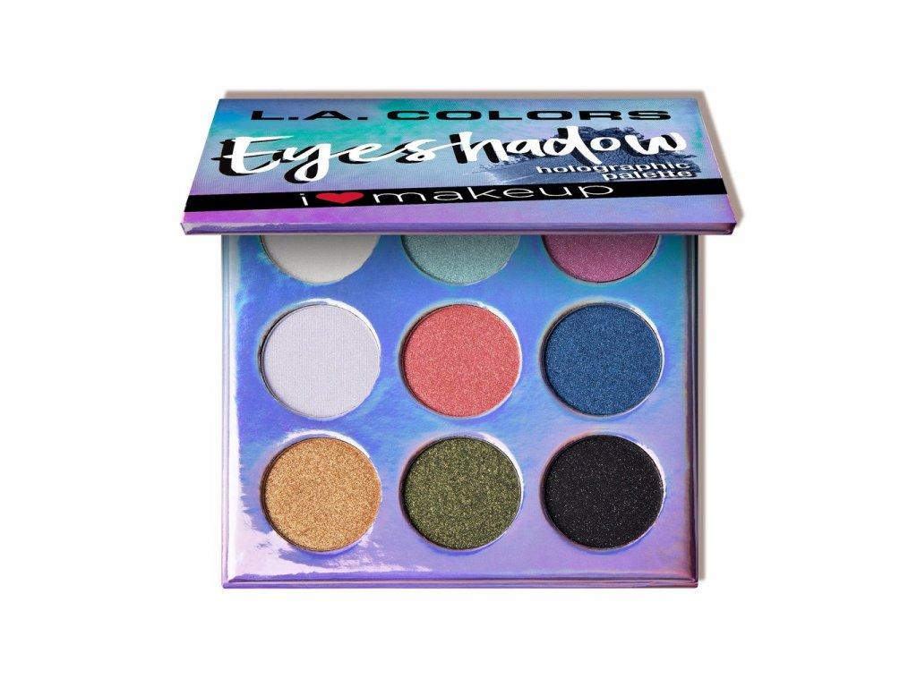 L.A. Colors - Paletka stínů Beauty Booklet HOLOGRAPHIC