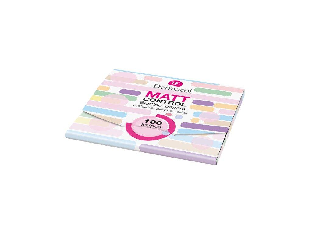 Dermacol -  Matující papírky na obličej 100ks