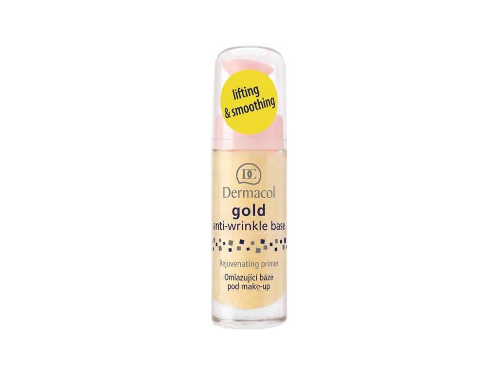 Dermacol - Báze pod make-up omlazující Gold Anti-wrinkle 20 ml