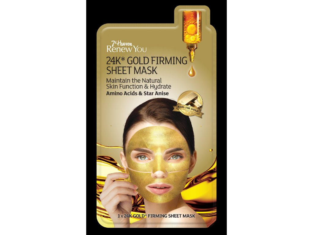 7th Heaven - RenewYou 24K zlatá maska 1 ks