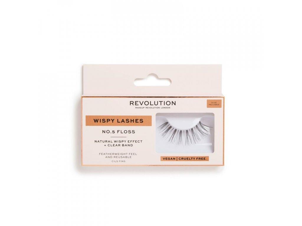 Makeup Revolution - Umělé řasy No.5 Floss Wispy Lashes