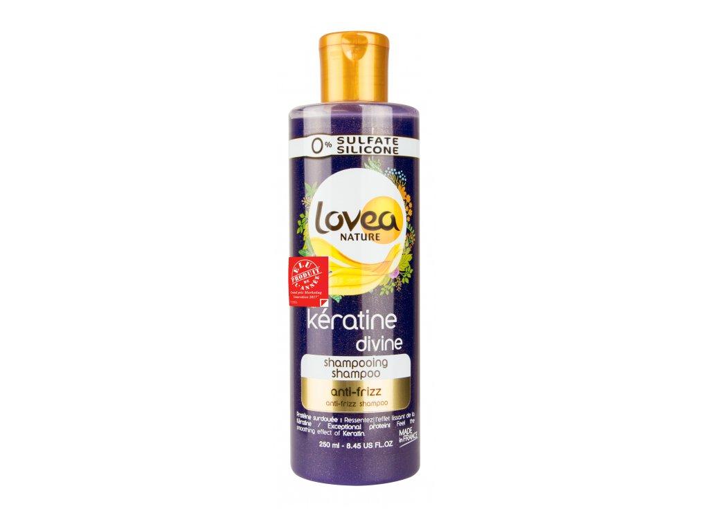 Lovea - Šampón na nepoddajné a krepaté vlasy, 250ml