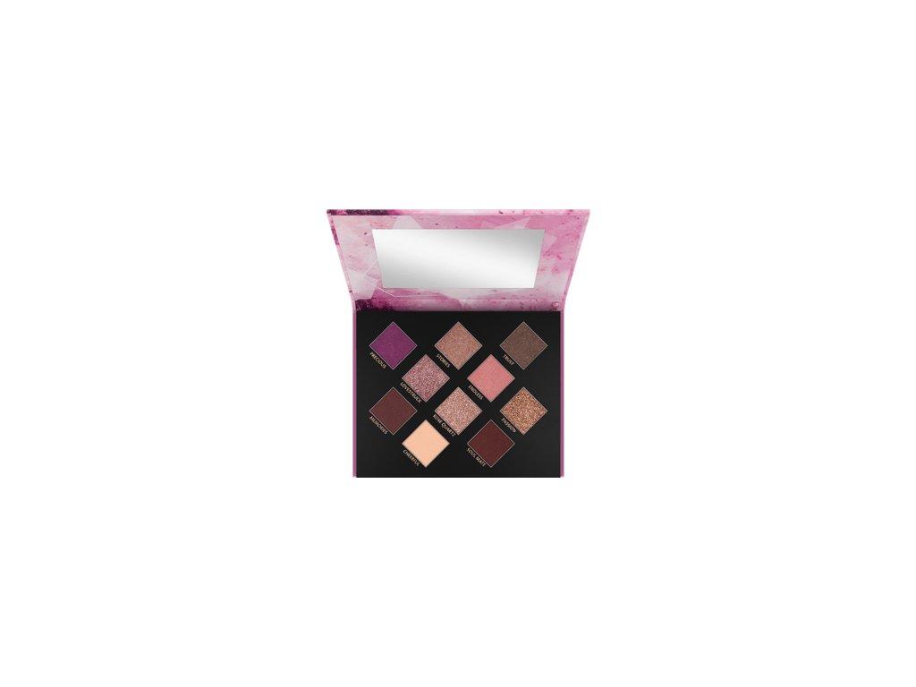 CATRICE - Paleta očních stínů Crystallized Rose Quartz