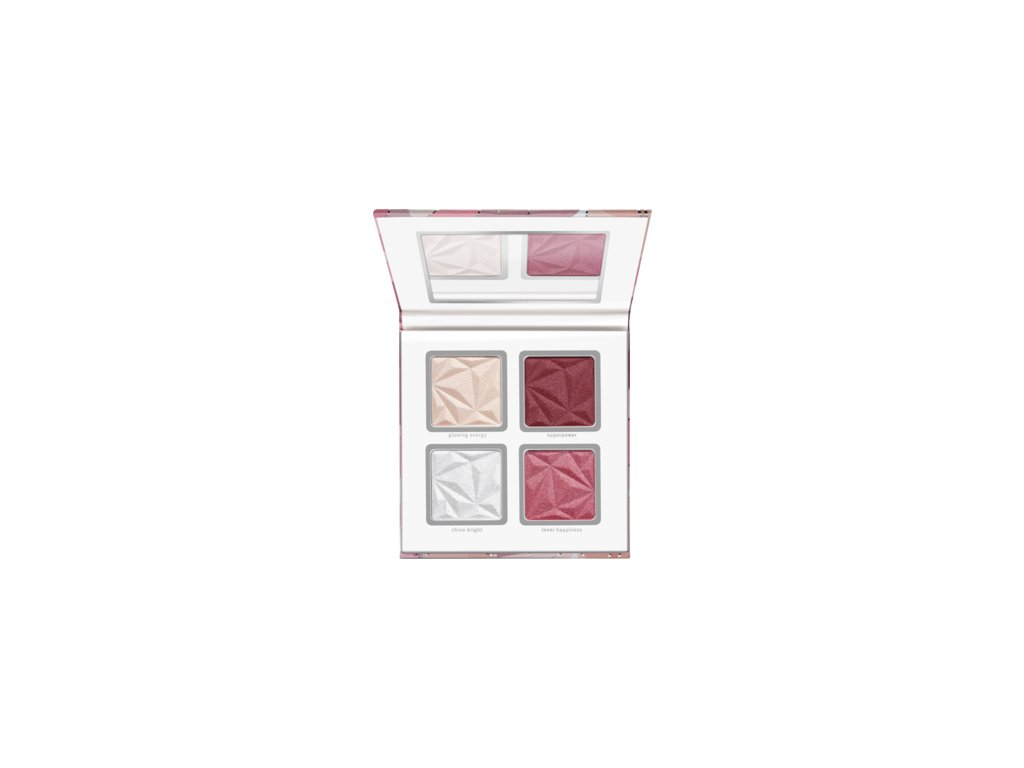 Essence - paletka crystal power blush & highlighter