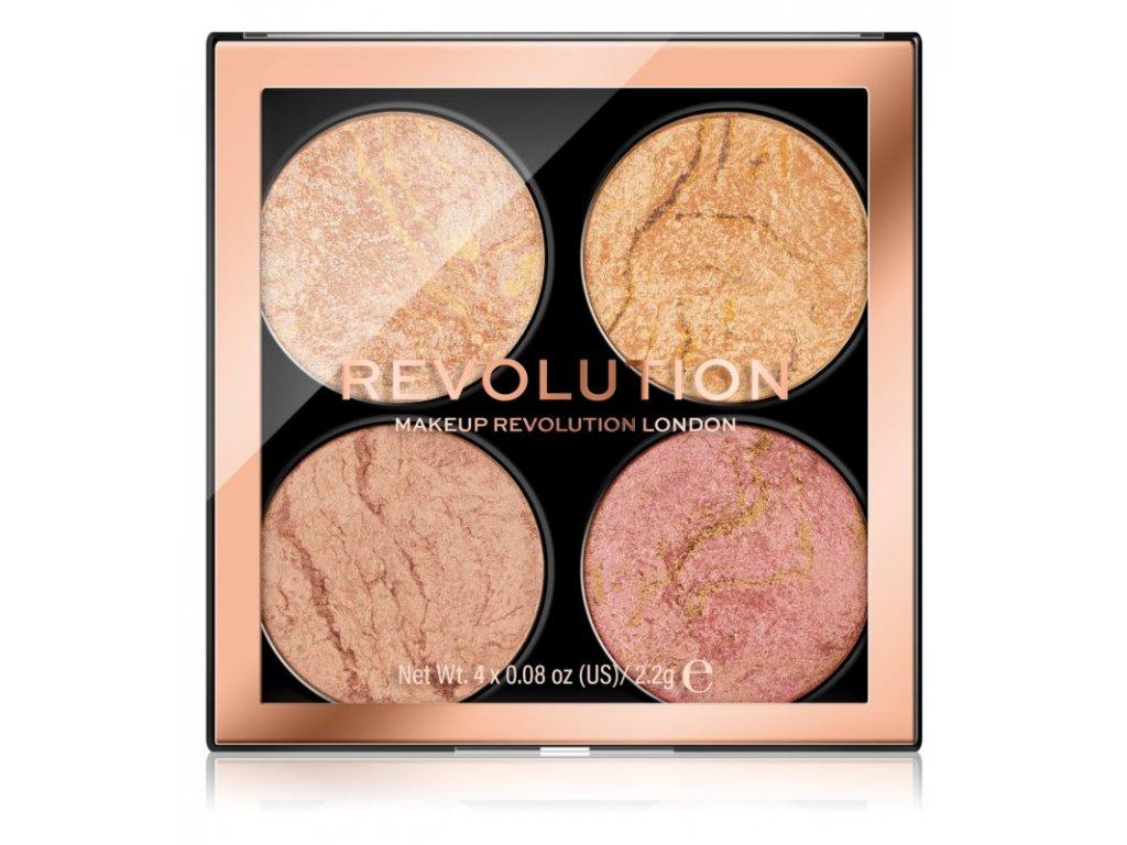 Makeup Revolution - Paletka na tvář Fresh Perspective