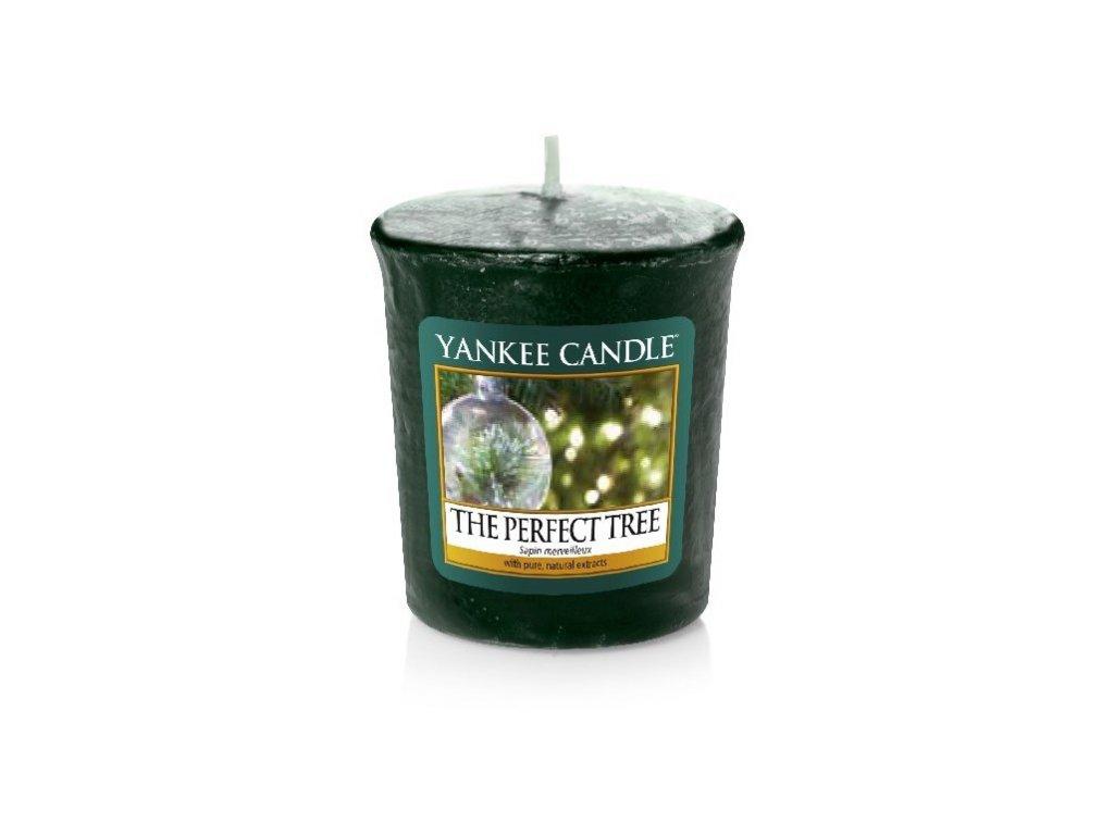 Yankee candle - Vonná svíčka votivní THE PERFECT TREE