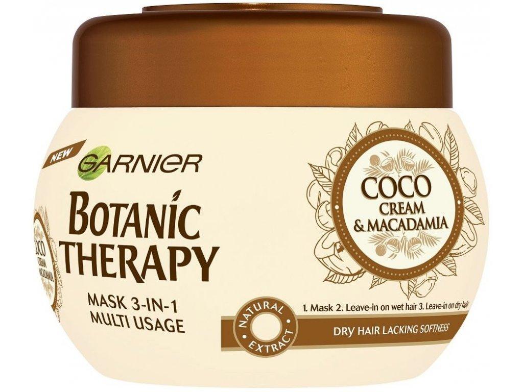 Garnier - Botanic Therapy Coco Milk & Macadamia maska pro suché vlasy 300 ml