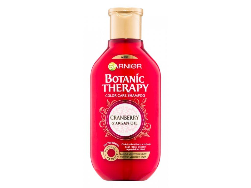 Garnier - Botanic Therapy Cranberry šampon pro ochranu barvených vlasů