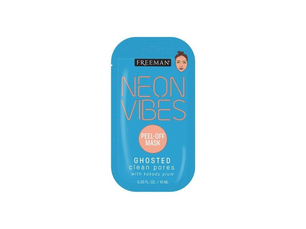 Freeman - Sachet Neon Vibes slupovací póry čistící maska GHOSTED 10ml
