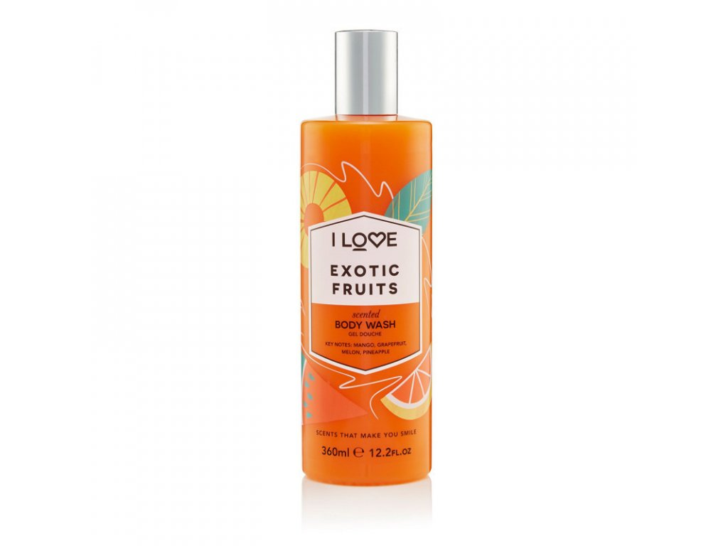I LOVE - Sprchový gel Exotické ovoce (Exotic fruit) 360 ml